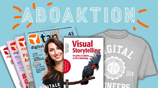 """Schlag zu: """"Visual Storytelling"""" im Abo-Bundle"""