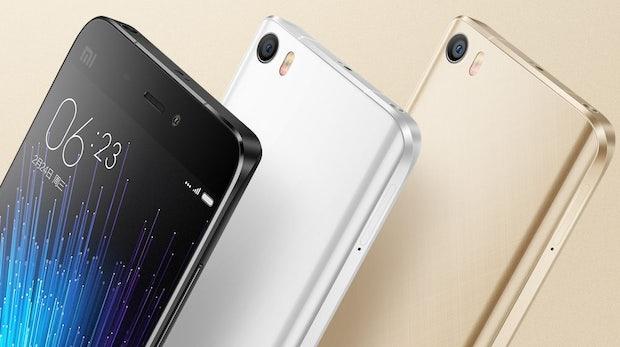 Xiaomi Mi 5: Galaxy-S7-Konkurrent kostet nur 300 Dollar