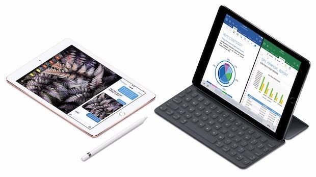 Apple iPad Pro 9.7: Geschrumpftes Profi-iPad mit guter Kamera und 256 GByte