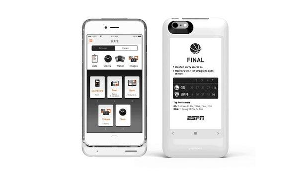 Popslate 2: Akku-Case verpasst eurem iPhone ein zweites E-Ink-Display