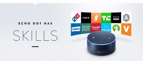 Amazon Echo Dot. (Bild: Amazon)