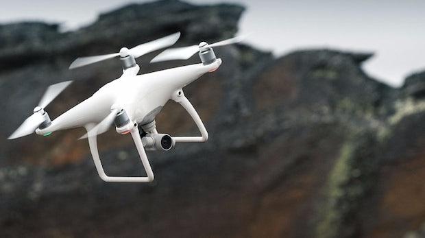 Smarter Quadcopter: DJI Phantom 4 weicht Hindernissen aus und folgt dir auf Schritt und Tritt