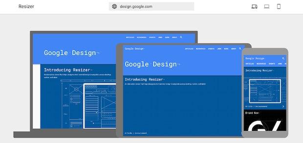 Google-Resizer auf einen Blick: Das kann das Tool