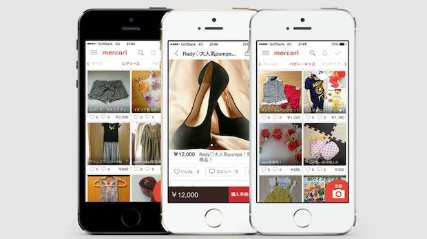 Ein Unicorn namens Mercari: Flohmarkt-App sammelt 75 Millionen Dollar ein