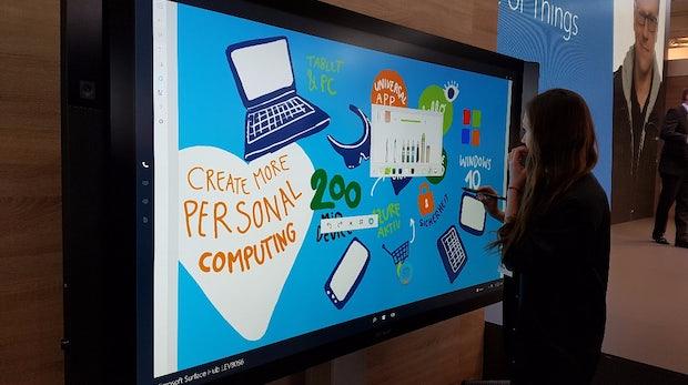Microsoft Surface Hub. (Foto: t3n)