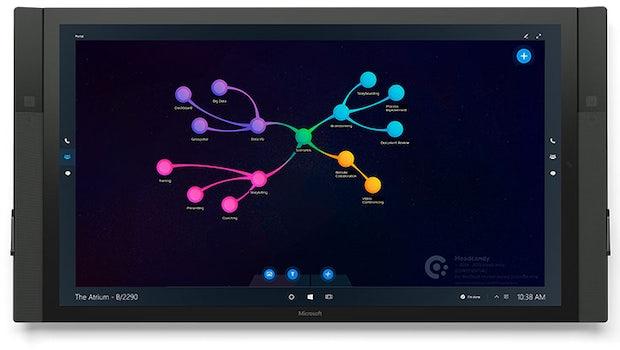 Anwendungsbeispiele für den Microsoft Surface Hub. (Bild: Microsoft)