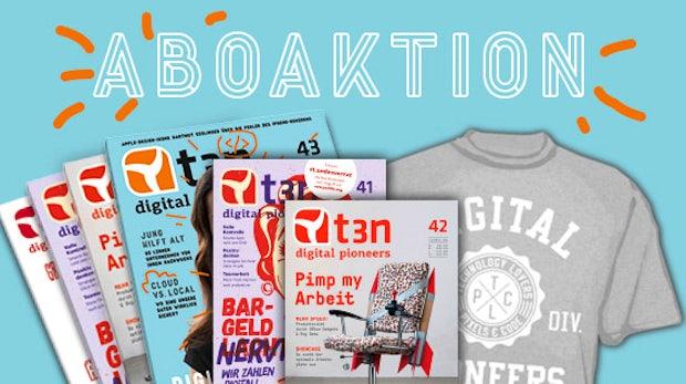 Zwei Ausgaben geschenkt: Sicher dir t3n Nr. 41 und 42 gratis zum Abo!
