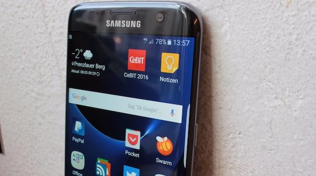 Samsung Galaxy S7 edge. (Foto: t3n)