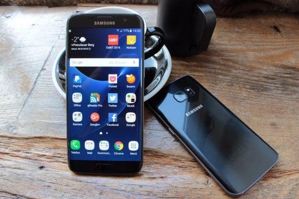 Das Samsung Galaxy S7 edge und Galaxy S7. (Foto: t3n)