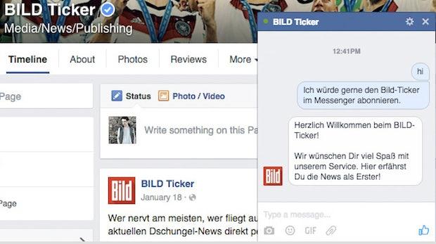 Chatbots, Sport-News und Taxi-Buchungen: Wie Unternehmen den Facebook-Messenger nutzen