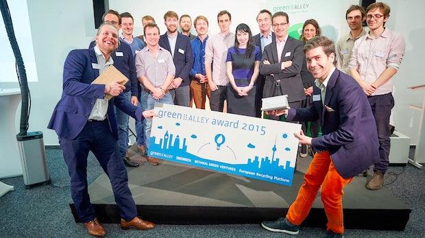 30.000 Euro für grüne Startups: Green Alley Award prämiert nachhaltige Firmenideen
