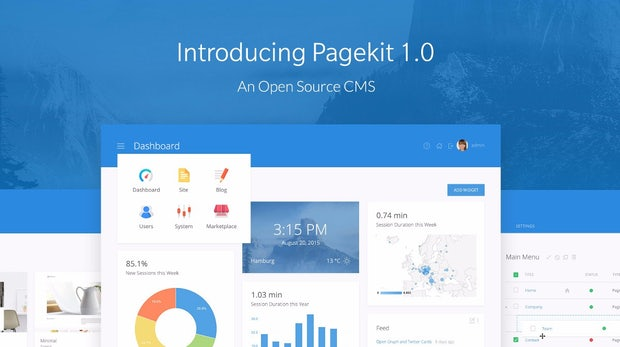 Pagekit 1.0: Das modulare Open-Source-CMS im Überblick