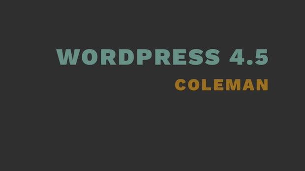 WordPress 4.5 bringt unter anderem besser Bildkomprimierung und Responsive-Design-Vorschau im Customizer