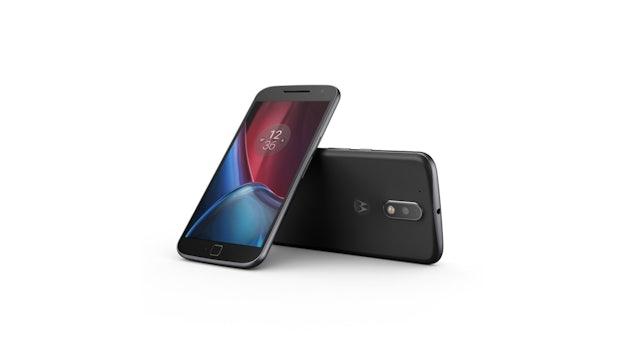 Moto G4 Plus. (Bild: Lenovo)