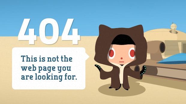 404 Error! Diese kreativen Fehlerseiten musst du gesehen haben