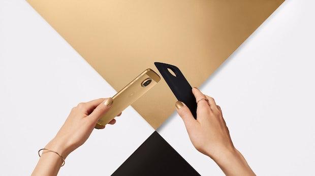 Moto Z: Lenovos modulares High-End-Smartphone ist nur 5,2 Millimeter dünn