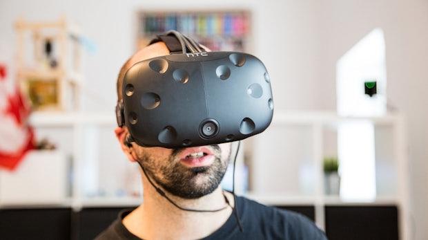 """Wie geil ist das denn?!"" – Die Virtual-Reality-Brille ""HTC Vive"" im t3n-Test"