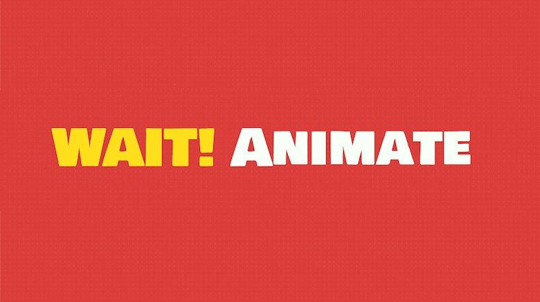 WAIT! Animate: Schneller zu anschaulichen CSS-Animationen
