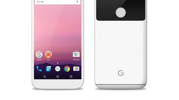 """Mockup: So könnte das Google Pixel/Nexus in Weiß aussehen. (Bild: <a href=""""https://www.reddit.com/r/Android/comments/4rtv23/leaked_nexus_in_four_colors/"""">reddit</a>)"""