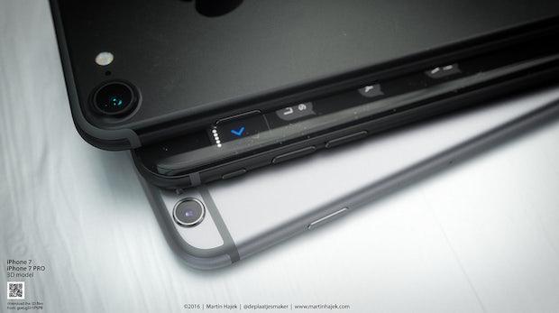 iPhone 7 in Schwarz. (Bild: Martin Hajek)