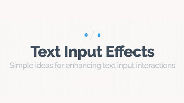 Langweilige Formulare sind von gestern: 27 schicke CSS-Alternativen für Platzhaltertexte