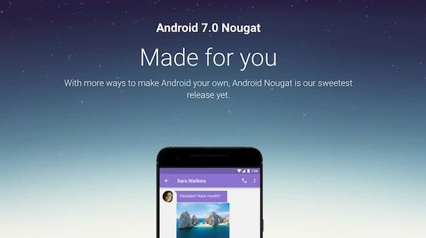 Android 7.0 Nougat: Finale Version für Nexus-Geräte veröffentlicht – so kommt ihr rasch ans Update