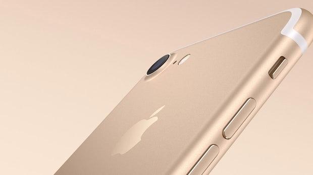 Apples iPhone ist Gold wert. (Bild: Apple)