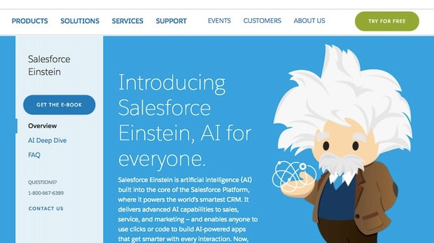 Künstliche Intelligenz: Salesforce rüstet seine Händler-Plattform Commerce-Cloud auf