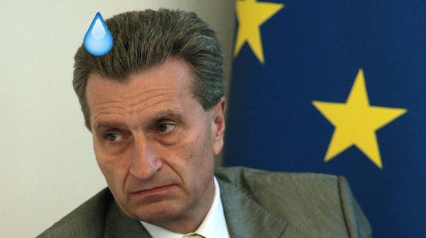 10 irre klingende Zitate von Günther Oettinger, die uns Angst machen