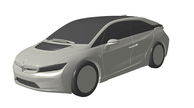 BMW i5. (Bild: Patentamt via Auto Motor-Sport)