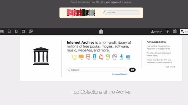 Wegen Trump: Das Internet Archive sichert eine Kopie in Kanada