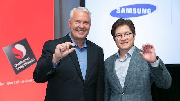 Fürs Galaxy S8: Samsung und Qualcomm kündigen Snapdragon-835-Prozessor an