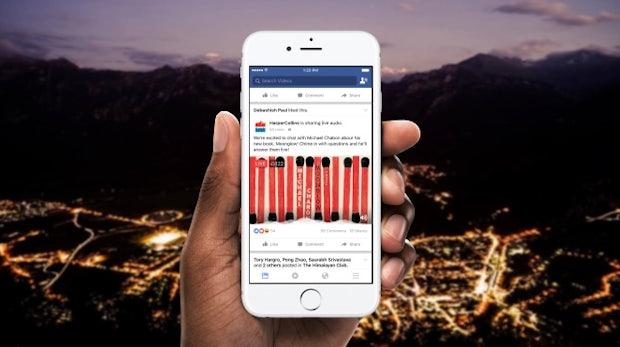 Angriff aufs gute alte Radio: Facebook kündigt Live Audio an