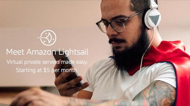 Lightsail: Für nur 5 Dollar im Monat bekommst du jetzt Cloud-Hosting von Amazon