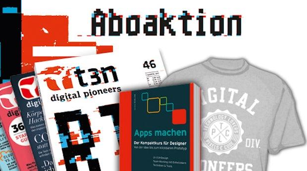 """Nur 30x: t3n-Abo inklusive """"Apps machen"""" von Hanser"""
