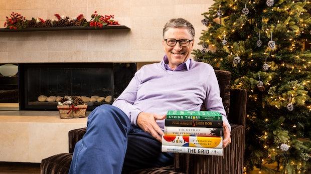 Bill Gates empfiehlt die besten Bücher, die er dieses Jahr gelesen hat