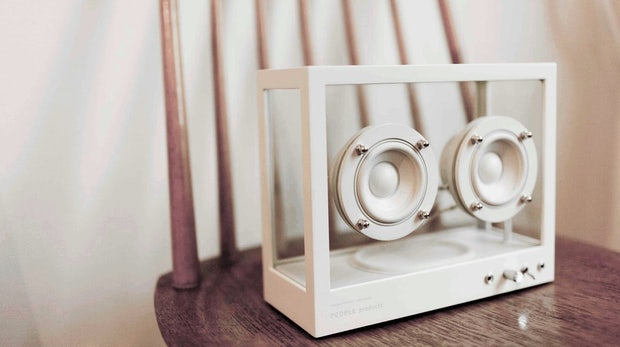 Transparent Speaker: WLAN-Lautsprecher für Design-Aficionados