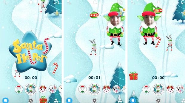 Mehr als nur Filter: Snapchat bietet jetzt auch Games an