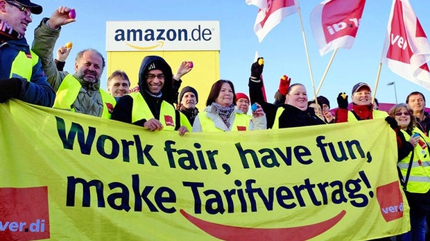 Wie Verdi Amazon in die Knie zwingen will