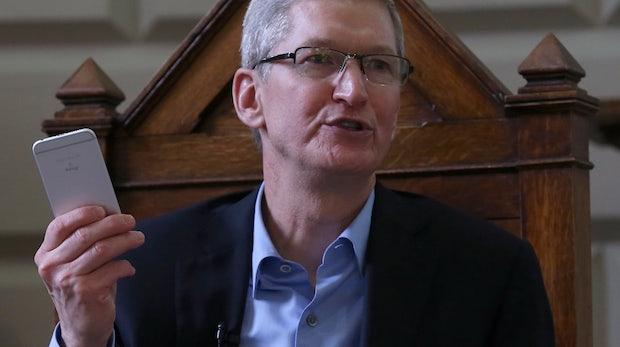Rückgang der iPhone-Käufe: 1,5 Millionen Dollar weniger Gehalt für Tim Cook