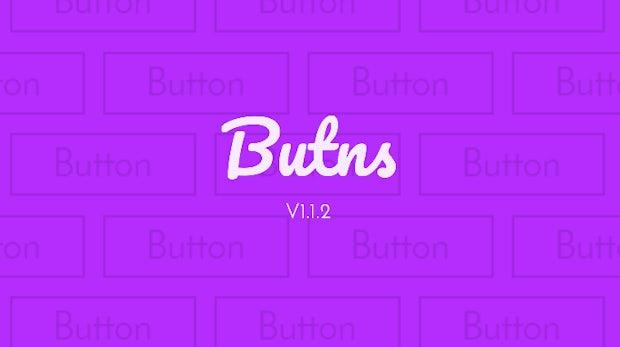Butns - Schicke Schaltflächen aus reinem CSS