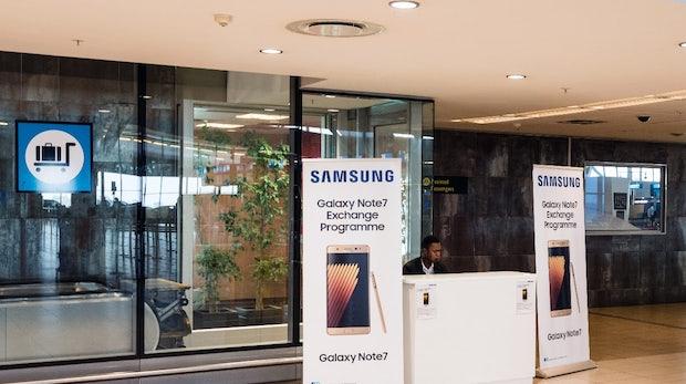 Galaxy Note 7: 96 Prozent der Geräte sind retourniert