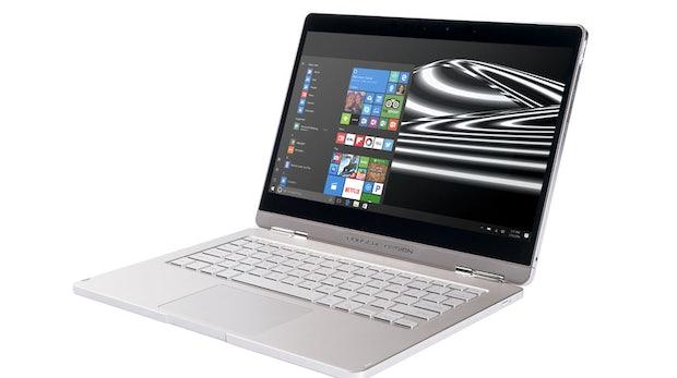 Windows-10-Notebook mit Tablet-Einheit im schicken Porsche-Design. (Bild: Microsoft)