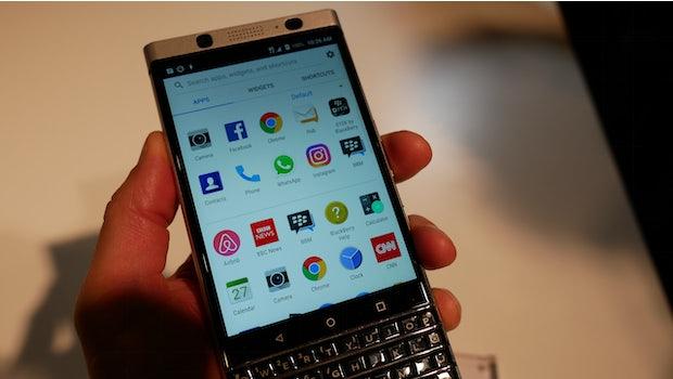 Blackberry Keyone. (Foto: t3n)