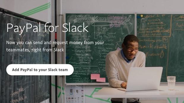 Direkt in Slack bezahlen: Erster Paypal-Bot macht's möglich