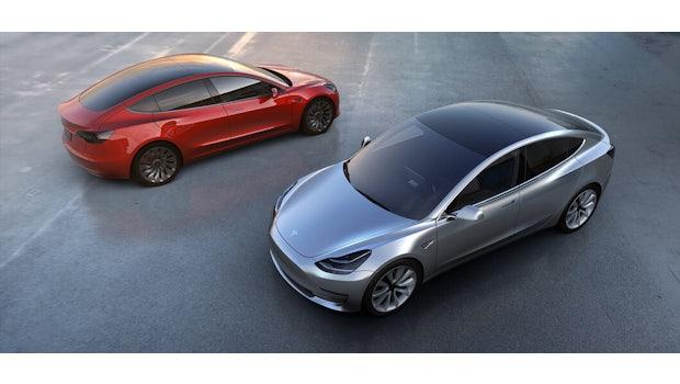 Tesla: Auf das Model 3 folgt das Model Y – aber erst in zwei bis drei Jahren. (Foto: Tesla)