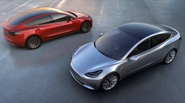 Für das Tesla Model 3 muss die Produktion massiv gesteigert werden. (Foto. Tesla)