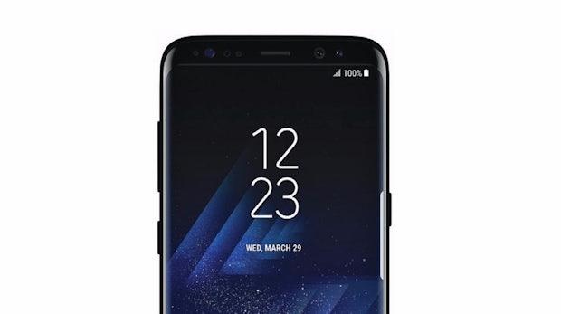 Samsung Galaxy S8. (Bild: Samsung)