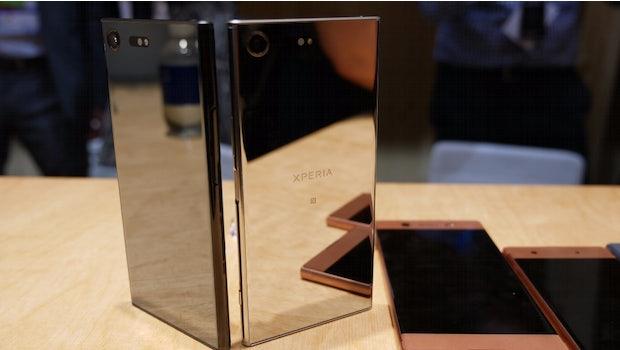 Sony Xperia XZ Premium. (Foto: t3n)