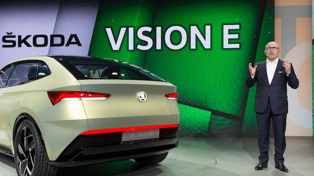Vision E: Das ist Škodas Elektroauto-Konzept